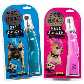 Pet Head Nail Junkie Dog Nail Grinder