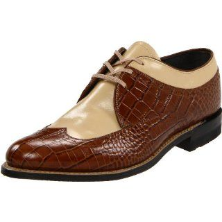 Stacy Adams Mens Madison Cap Toe Woven Oxford: Shoes