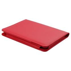 Red Leather Case for  Kindle Touch