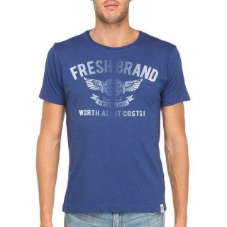 FRESH BRAND T Shirt Homme Bleu royal Bleu royal   Achat / Vente T