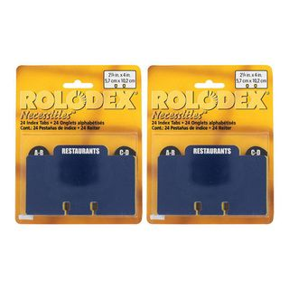 Rolodex Necessities Special Category Index Tabs (Pack of 48