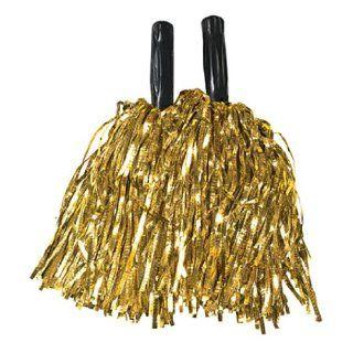 Metallic Gold Pom Poms (1 dz)