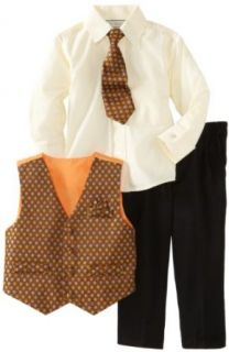 Joey Couture Boys 2 7 Little Polka Pattern Vest Set