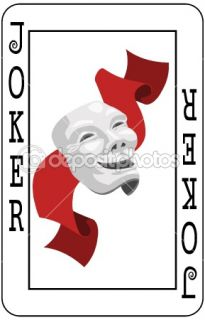 Joker card  Stock Vector © Christos Georghiou #6575025