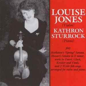 Louise Jones   Classical Violin Favorites   Beethoven