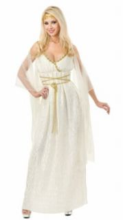 Grecian Princess Costume Long Sexy Toga Dress Sexy Roman