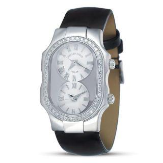 Philip Stein Womens Teslar Stainless Steel Diamond Watch