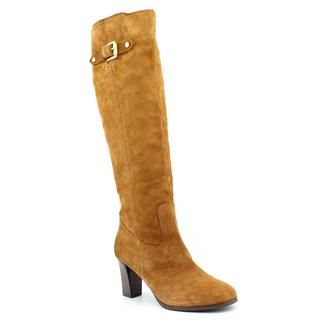 Michael Kors Womens Burke Boot Regular Suede Boots