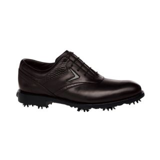 Callaway Mens Tour Authentic FT Chev Saddle Brown Golf Shoes