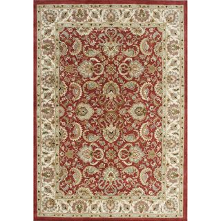 Alliyah Hand made Wool Soft Red Persian Rug (10x14)
