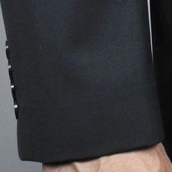 Giorgio Fiorelli Mens Black 2 button Suit