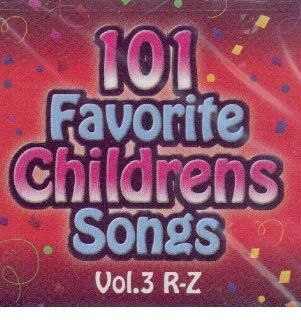 101 Favorite Childrens Songs 3 Various Artists Music