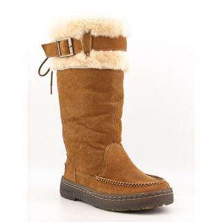 Bearpaw Womens Siren II Brown Luggage Winter Boots Shoes