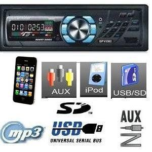 , WMA, AM/FM Car Stereo Receiver Digital Media w/USB