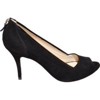 Womens Takera Shoes Elena Black Suede