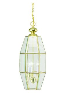 Crystal Palace 3 Light Polished Brass Foyer Pendant Today $30.49