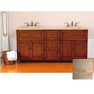 Orsen Light 72 inch Double Sink Bathroom Vanity