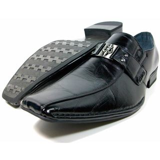 Aldo Marciano Mens Slip on Loafers with Buckle Design
