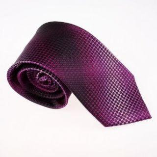 Purple Polka Dots Woven Silk Tie Gift Box Set Valentines