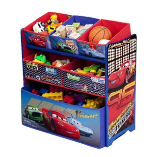Disney Pixar Cars Multi bin Toy Organizer