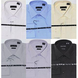 Giorgio Fiorelli Mens Modern fit Dress Shirts (Pack of 6)