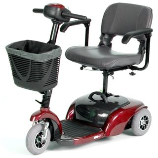 Spitfire Travel Red 3 Wheel Power Scooter
