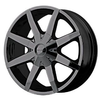 KMC Wheels Slide Fwd KM650 Gloss Black Wheel (16x7/5x108mm) :