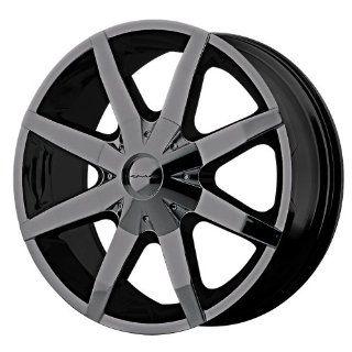 KMC Wheels Slide Fwd KM650 Gloss Black Wheel (16x7/5x108mm)