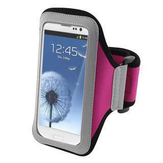 BasAcc Hot Pink Armband for Samsung Galaxy S III/ S3