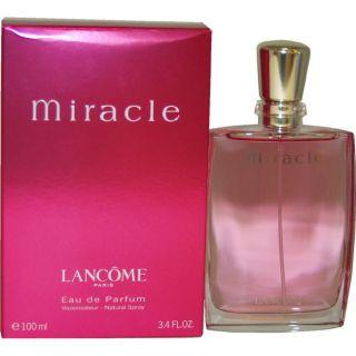 Lancome Miracle Womens 3.4 ounce Eau De Parfum Spray
