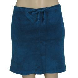 Terry Cloth Womens Knee Skirt