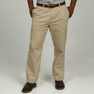 Calvin Klein Mens Classic Khaki Soft Wash Chino Pants