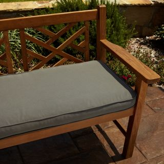 Clara Grey 60 inch Outdoor Sunbrella Bench Cushion