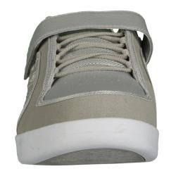 Lugz Mens Slice Permahide Grey/ White Sneakers