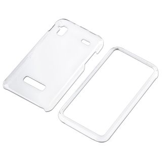 Clear Snap on Crystal Case for Samsung Captivate Glide i927