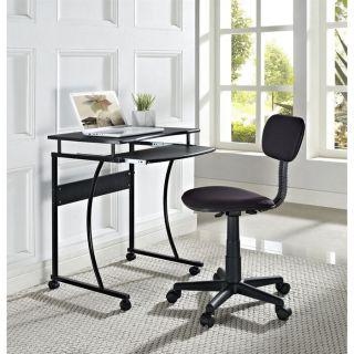 SCHOOL ensemble bureau et chaise   coloris noir   Achat / Vente BUREAU