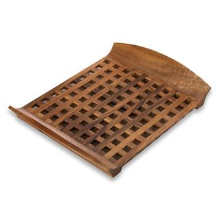 Dansk Wood Classics Large Lattice Tray