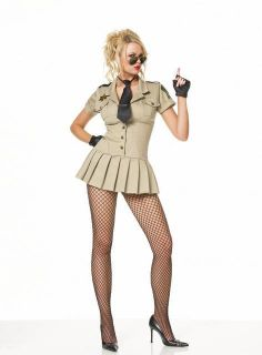 Womens Sexy Police Officer Costume
