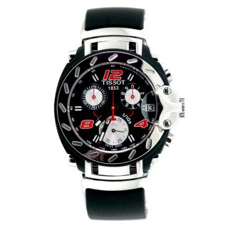 Tissot Mens T Race Nascar Stainless Steel/ Rubber Watch