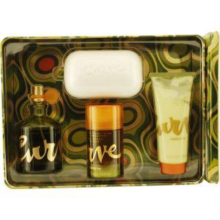 Liz Claiborne Curve Mens Four piece Fragrance Set