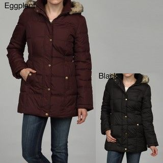 Generation Wear Womens Faux Fur Hood Puffer Jacket