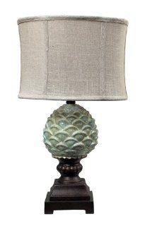 Sterling Industries 113 1133 Mini Green Acorn Ceramic Table Lamp