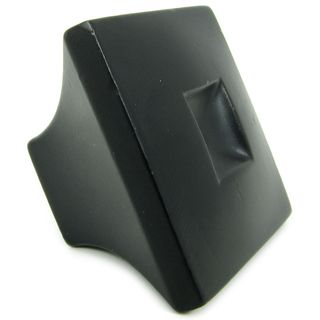 Stone Mill Hardware Spade Matte Black Cabinet Knobs (Pack of 5