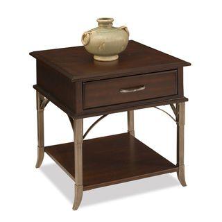 Home Styles Bordeaux Espresso End Table