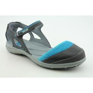 Teva Womens Pasas Mary Jane Leather Sandals