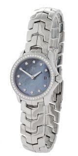 Tag Heuer Womens Blue Dial Diamond Watch