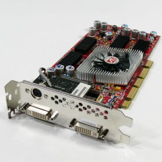 ATI 256MB Fire GL X2 256 AGP Pro Dual DVI Video Card (Refurbished