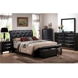 Vegas 5 piece East King Bedroom Set