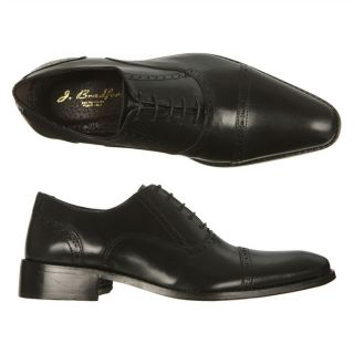 BRADFORD Chaussures Richelieu cuir Glum Noir   Achat / Vente