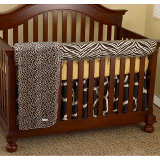 Cotton Tale Zumba 4 piece Crib Bedding Set